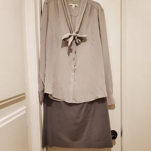 Banana Republic Complete Outfit! Top 8 Skirt 10